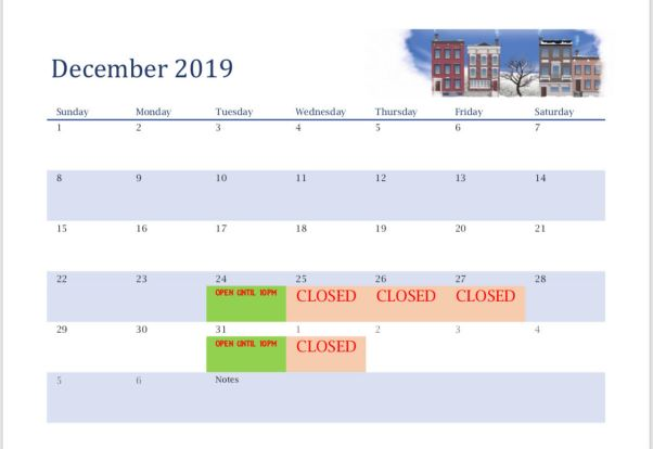 calendar)